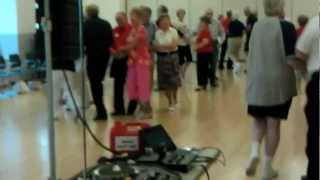 Square Dance in Brecksville, Ohio with Tom Roper square dance caller VIDEO0302.3gp