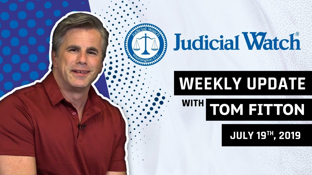 Judicial Watch Tom Fitton: Obama State Dept. Caught in #RussiaGate, Ilhan Omar Marriage Scandal, KY