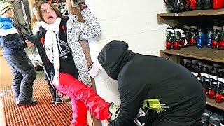 SHAYTARDS SKI LESSONS!