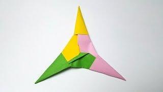 折纸王子教你折纸三角飞镖 简单易学 帮孩子动手动脑 origami easy tutorial 折り紙 簡単教程