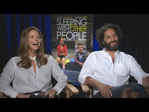 'Sleeping With Other People' Stars Jason Mantzoukas and Andrea Savage on Losing Their Virginities
