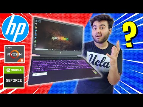 HP Pavilion Gaming | Unboxing & Review | Ryzen 5 3550H | GTX 1650