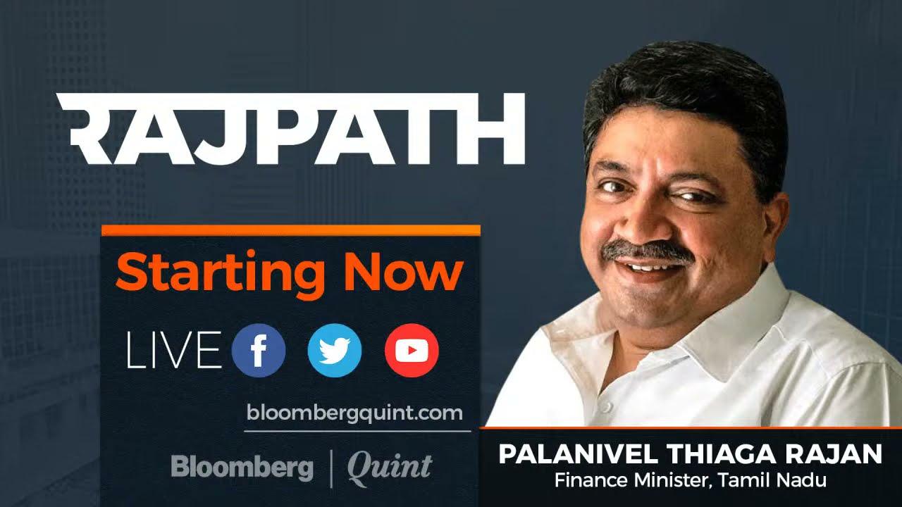 Rajpath With Tamil Nadu Finance Minister Palanivel Thiaga Rajan Youtube
