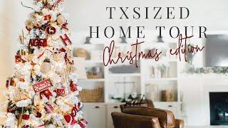 TX Sized Home Farmhouse Tour - Christmas Edition