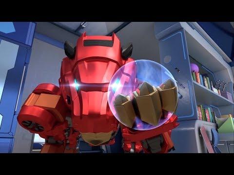 Металионы  Metalions – Новый домашний робот – мультфильм про трансформеров