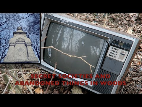 A Strange Graveyard for Secret Societies **Weird Abandoned Things**