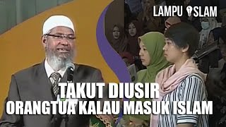 MENANGIS TAKUT DIUSIR Orangtua Jika MASUK ISLAM | Dr. Zakir Naik UMY Yogya 2017