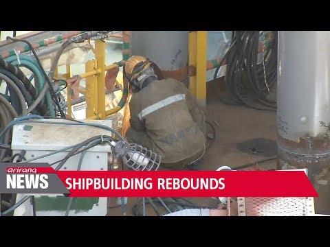 Global shipping market rebounds