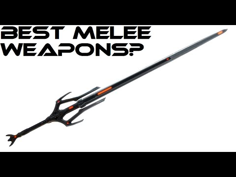Warframe: Best Melee Weapon (U17) - YouTube