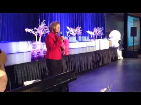 Tupperware Groupe President of the Americas Patricia Stitzel  at Les Diamants 11082014
