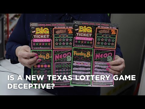 Is A New Texas Lottery Game Deceptive? Does Texas Do This Purposely To Get Unclaimed Prize Money?