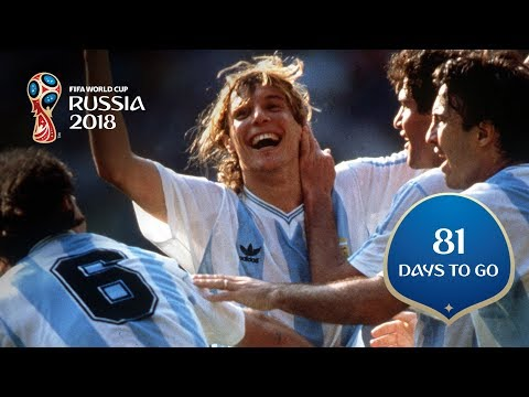 81 DAYS TO GO! Caniggia Cements Argentinian Hero Status
