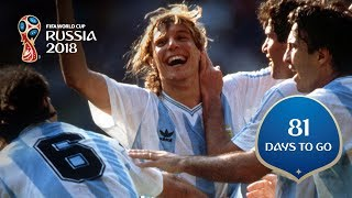 81days to go caniggia cements argentinian hero status