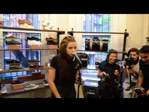 PVRIS- St. Patrick (Acoustic) Fred Perry In-Store 5/13/15