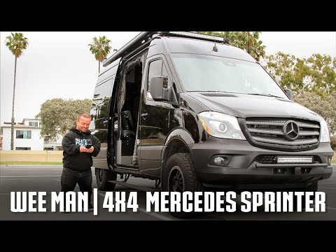 Van Life With Wee Man | Converted Mercedes Sprinter