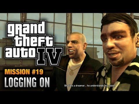 GTA 4 - Mission #19 - Logging On (1080p)