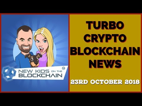 CRYPTO BLOCKCHAIN TURBO NEWS 23rd OCT. BTC, XRP, ETH, Fidelity, COD and more!