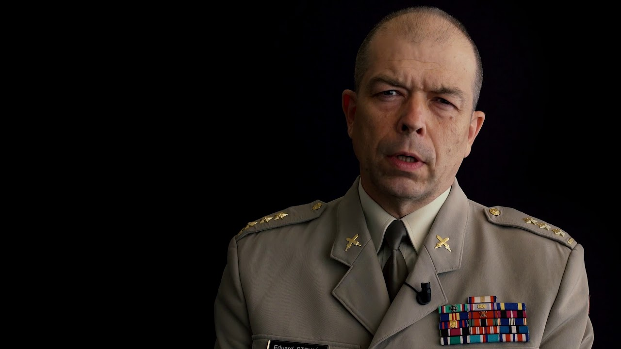 Эдуард Стеглик (Eduard Stehlík), директор Департамента ветеранов войны МО Чешской Республики