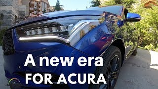 2019 Acura RDX 1st. Look on the road in Whistler, Canada