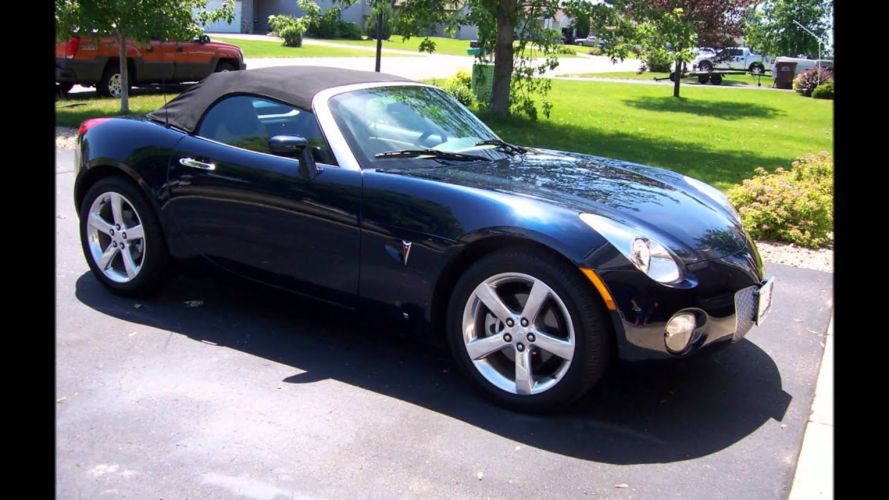 12k In Miles >> 2006 PONTIAC SOLSTICE NUMBERED LIMITED EDITION, 12K MILES ...