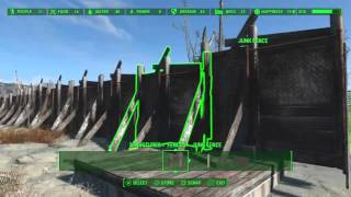 Fallout 4 How to merge junk fences [PS4]