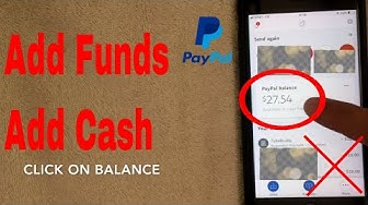 ✅  How To Add Cash and Funds Into Your Paypal App Tutorial 🔴
