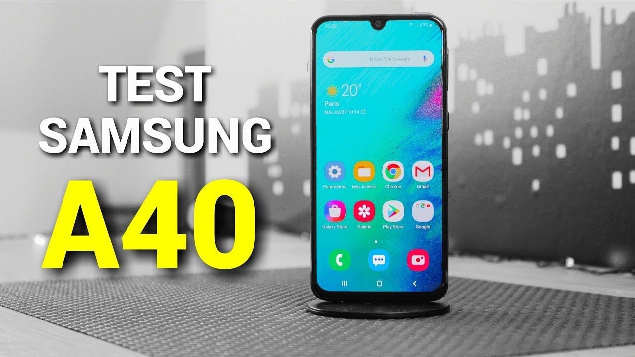 Photo of TEST du SAMSUNG Galaxy A40 – سامسونج
