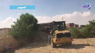 الداخلية تؤمّن إزالة عشرات حالات التعدي على أراضي الدولة.. فيديو