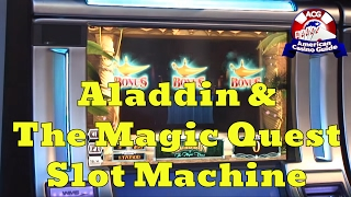 Aladdin & The Magic Quest Slot Machine from WMS Gaming - Slot Machine Sneak Peek Ep. 4