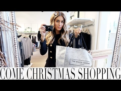 COME CHRISTMAS SHOPPING WITH ME | Lydia Elise Millen | VLOGMAS DAY 1