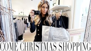 come christmas shopping with me   lydia elise millen   vlogmas day 1