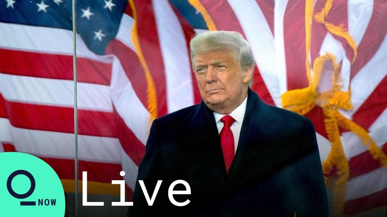LIVE: Trump Delivers Remarks at the 'Save America Rally' in Washington, D.C.