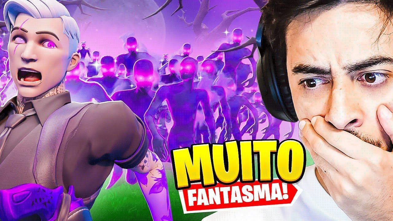 ERA MUITO FANTASMA!! - Fortnite