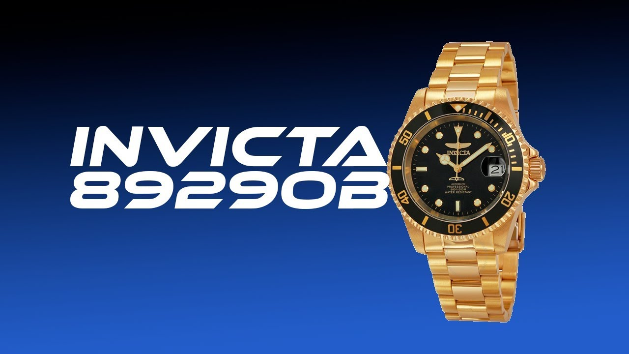 bajo precio cce53 010dd Reloj Invicta 8929OB reseña / unbox