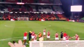 Victoire Fc Metz contre Niort 2-0 - Tribune Est