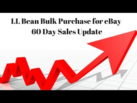 LL BEAN 60 Day Bulk Buy Update - Momentum is Building - Scaling my eBay Business
