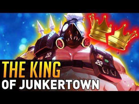 Overwatch | Roadhog was the KING of JUNKERTOWN?