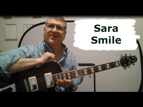 Sara Smile Hall & Oates Guitar Lesson with TAB