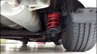 Hyundai Solaris Accent with Storm Progressive Lowering Spring
