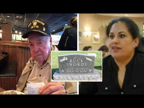 This Veteran Was Always Mean To His Waitress– When He Dies 7 Yrs Later, The Unthinkable Is Revealed
