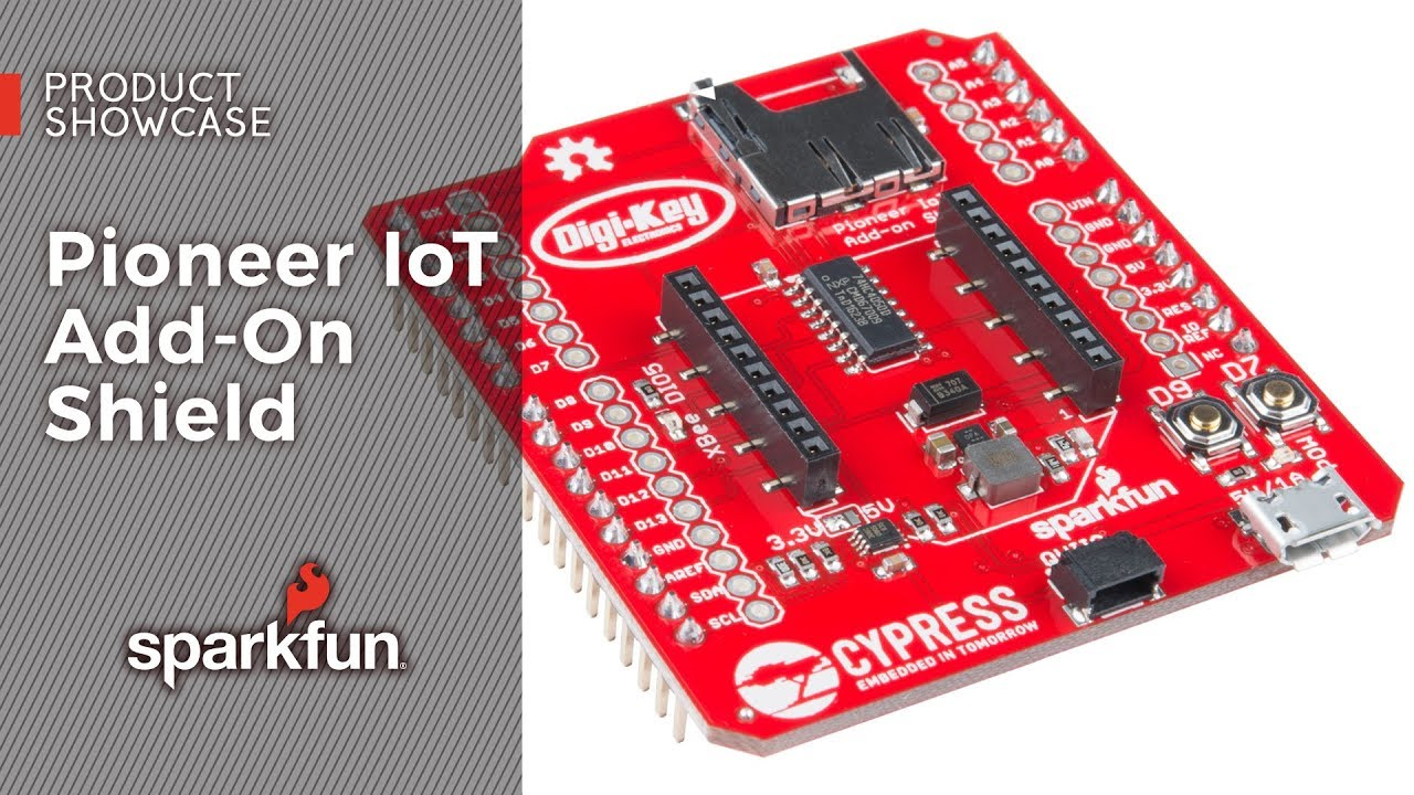 Using the PSoC 6 Pioneer Board with the Pioneer IoT Add-on Shield