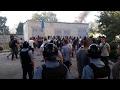 В Киеве Азов штурмуют стройку на Святошино