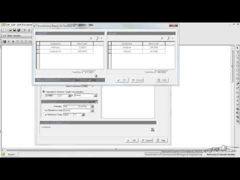 SuperPro Designer: Modeling a Reactor and Separator