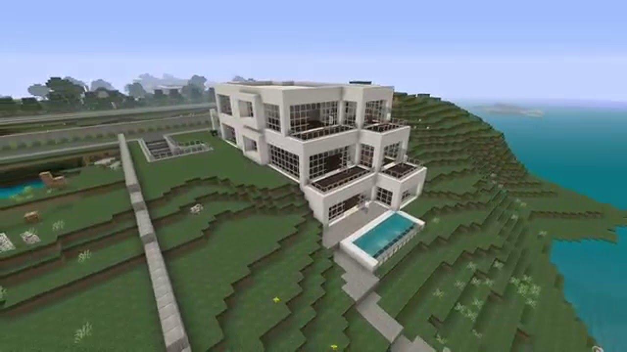 Modern hillside house - YouTube