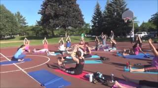 International Day of Yoga   2016 - Live Practice with Vidya Nahar