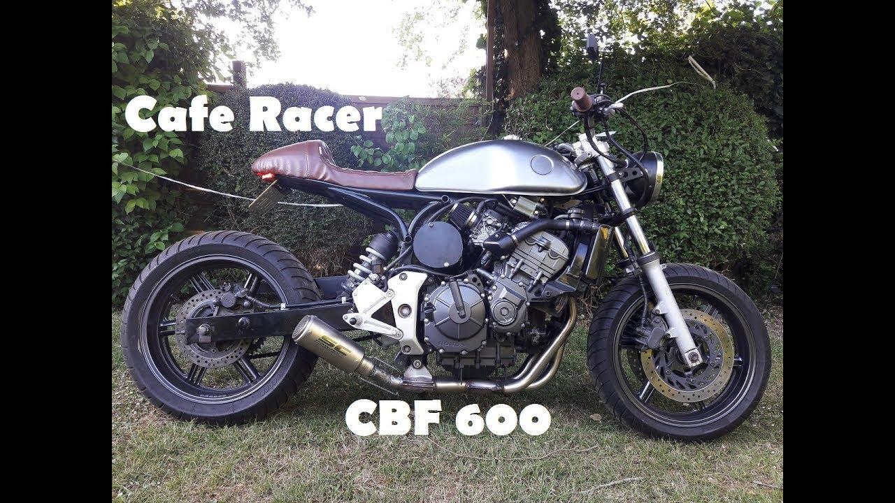 Honda CBF 600 Cafe Running