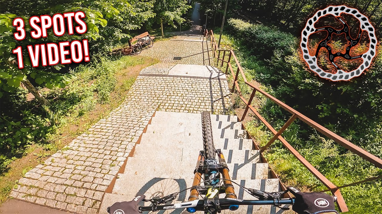 URBAN, Downhill & Slopestyle - 3 Spot's, 1 Video!