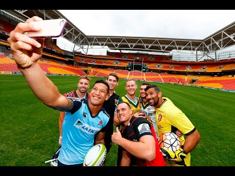 Folau and Dagg are in for Brisbane Global Tens