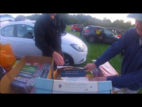 Unedited. LIVE Car Boot Hunt Episode 21. You're a Wizard, Harry
