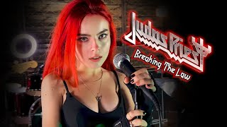 Breaking The Law - Judas Priest; By The Iron Cross